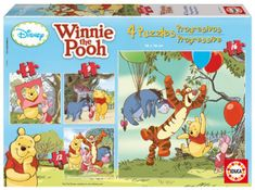 Educa sestavljanka Disney Winnie the Pooh, 6-16 kosov