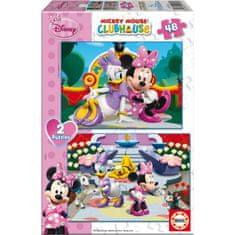 Educa sestavljanka Disney Minnie, 2×48