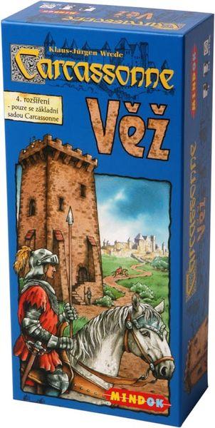 Mindok Carcassonne - rozšíření 4 (Věž)