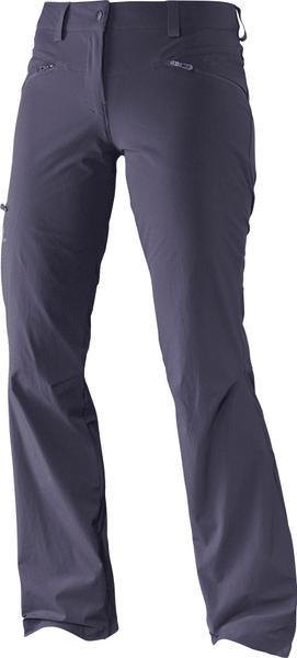 Salomon Wayfarer Pant W Nightshade Grey 42/R