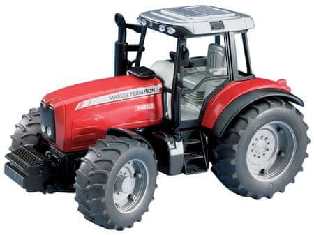 Bruder traktor Massey Ferguson, 30 cm, 02040