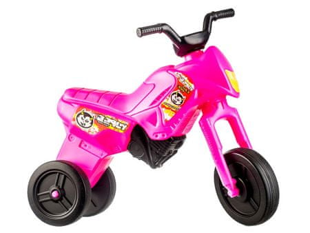 Yupee Różowy Motor Jeździk