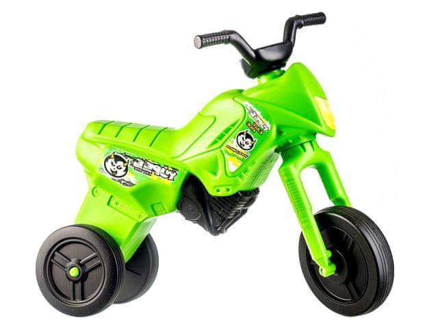 Yupee Odrážedlo Enduro zelené velké