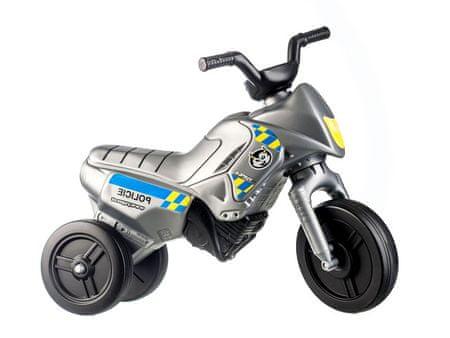 Yupee poganjalec Enduro Police, srebrn