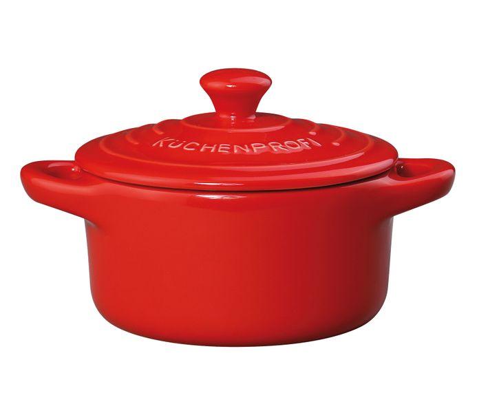 Küchenprofi Mini zapékací hrnec PROVENCE, červená