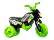 Yupee Odrážadlo Enduro čierno-zelené malé