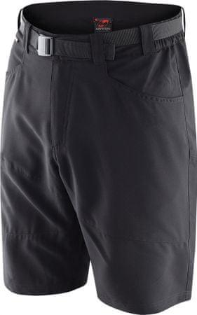 Hannah kratke hlače Right, moške, antracit, XXL