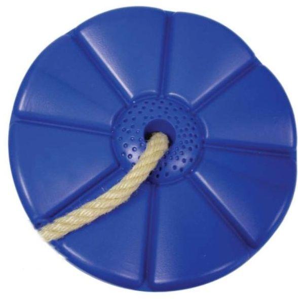 CUBS Houpačka Disk - květinka modrá