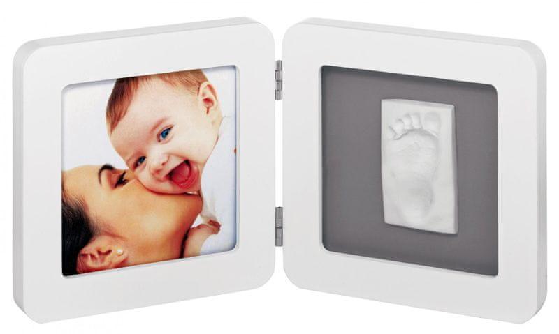 BabyArt Rámeček Print Frame, White/Grey