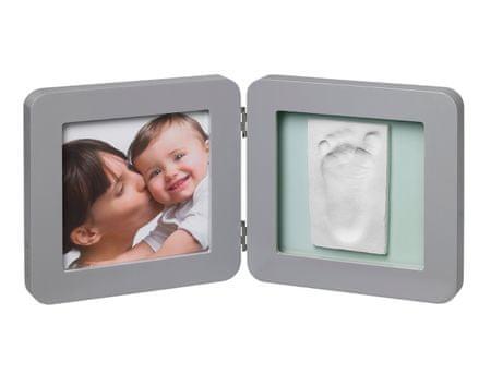 BabyArt odtis in fotografija, siva