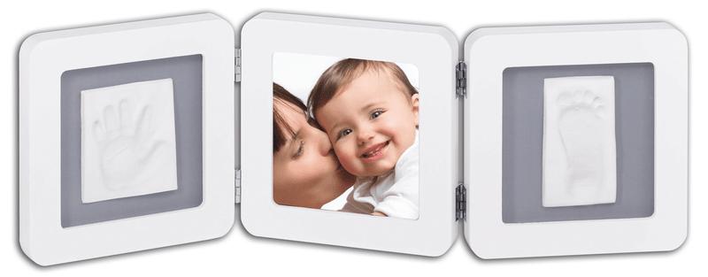 BabyArt Rámeček Double Print Frame, White/Grey