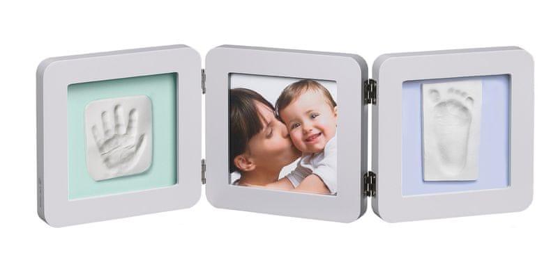 BabyArt Rámeček Double Print Frame, Grey