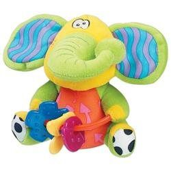 Playgro plišasta igračka grizalo slonček