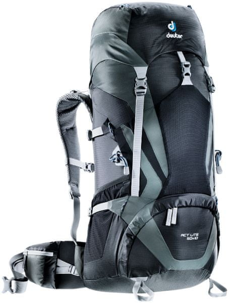 Deuter ACT Lite 50 + 10 black/granite