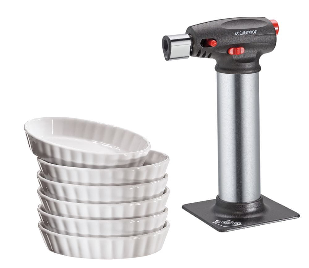 Küchenprofi Set na Creme Brulee 7 ks
