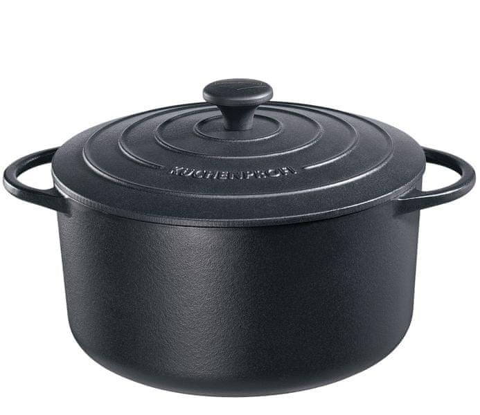 Küchenprofi Hrnec na pečení černý, 28cm