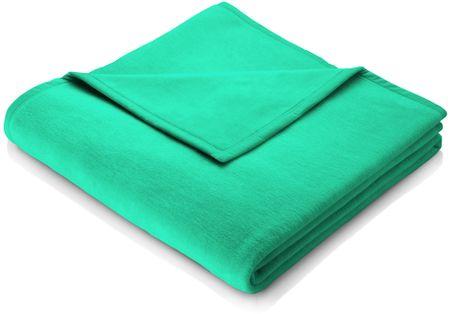 Biederlack odeja Colour Cotton, 150 x 200 cm, turkizna