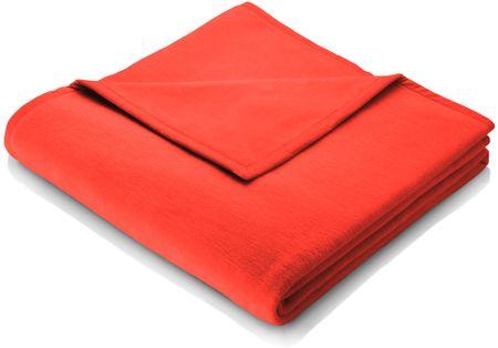 Biederlack odeja Colour Cotton, 150 x 200 cm, rdeča