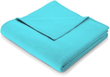 Biederlack odeja Colour Cotton, 150 x 200 cm, svetlo modra