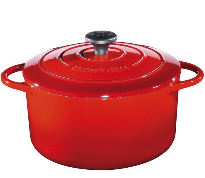 Küchenprofi Hrnec na pečení červený, 28cm