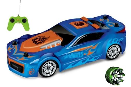 Hot Wheels auto na daljinsko upravljanje Drift Rod,1:24, plavi