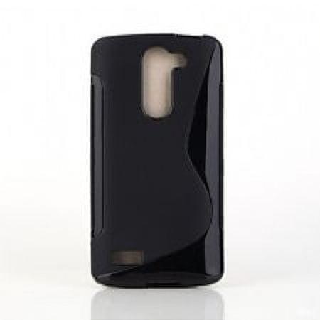 S silikonski ovitek LG L BELLO d331/d335, črn