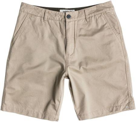 Quiksilver kratke hlače Everyday Chino Short, moške, bež, 34
