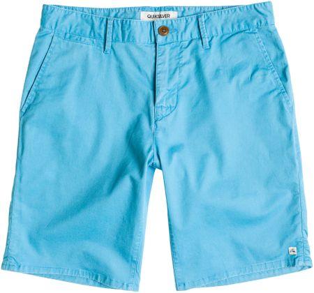 Quiksilver kratke hlače Krandy Chino, moške, modre, 34