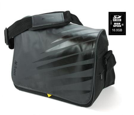 Nikon torba in 16GB kartica