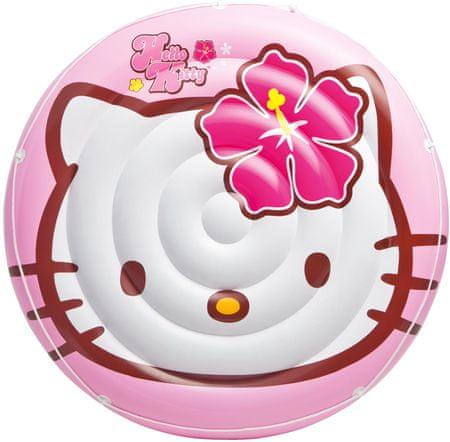 Intex Okrągły materac Hello Kitty