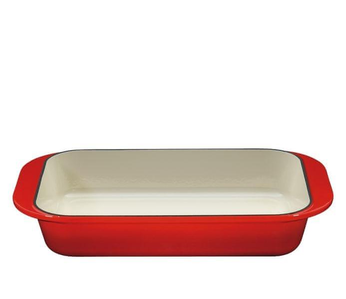 Küchenprofi Profesionální litinový pekáč Provence 43 cm červený