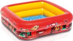 Intex bazen Cars, mehko dno, 85 x 85 x 23 cm