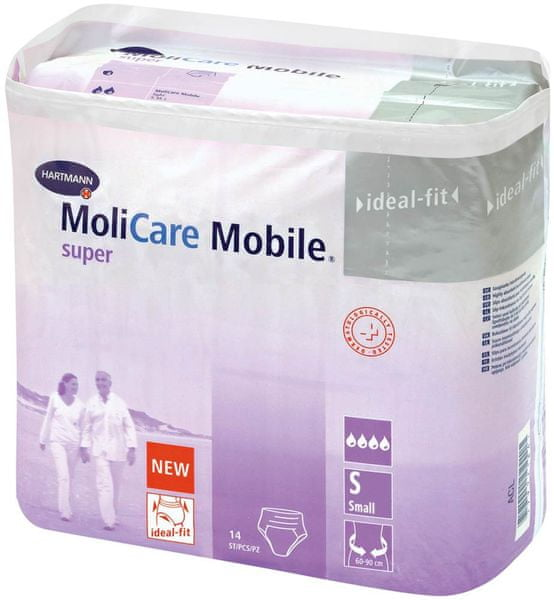 Hartmann Molicare Mobile Super Small 14 ks