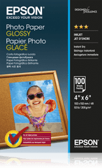Epson Photo Paper Glossy 10x15cm 100 listů (C13S042548)