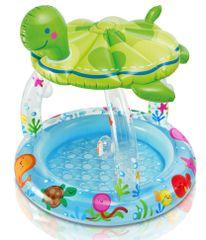 Intex Detský bazén korytnačka so strieškou