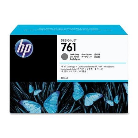 HP kartuša 761 (CM996A), 400 ml, Dark Grey