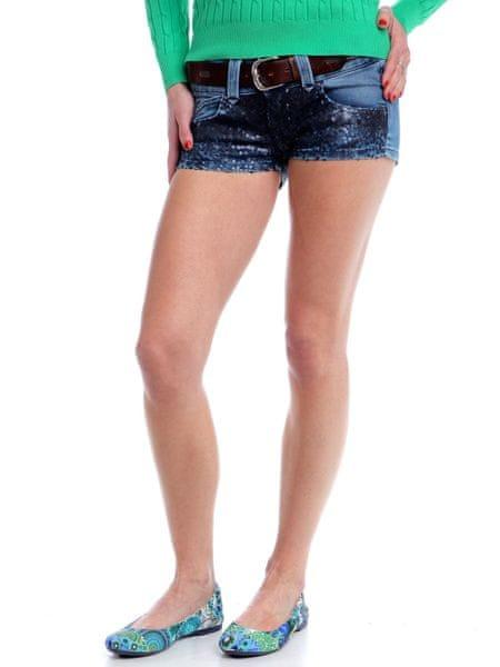 Pepe Jeans dámské kraťasy Giselle 30 modrá