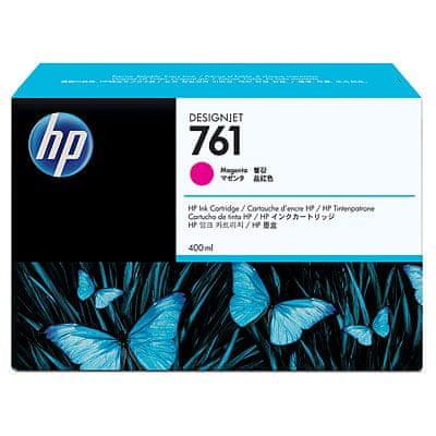 HP kartuša 761 (CM993A), 400 ml, Magenta