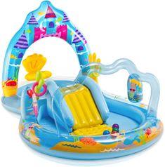 Intex Basen Królestwo Syrenek Playcenter Mermaid Kingdom 279X160X140 Cm 57139Np