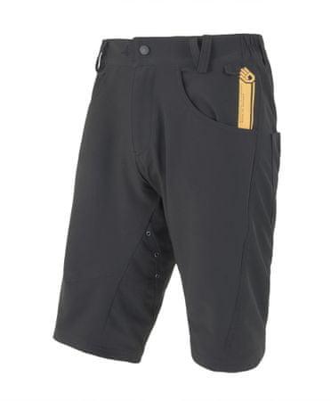 Sensor kolesarske kratke hlače Charger, moške, črne, M