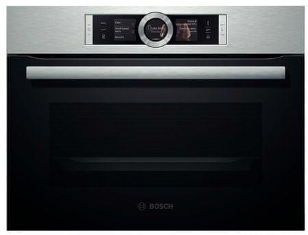 Bosch kombinirana parna pečica CSG656BS1