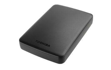 Toshiba zunanji trdi disk Canvio Basics 3 TB USB 3.0 2,5, črn