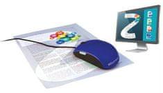 IRIScan IRISCAN Mouse Express 2, čierny + modrý kryt