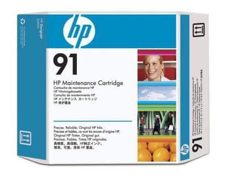 HP kartuša 91 (C9518A), Maintenance