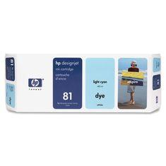 HP kartuša 81 (C4934A), 680 ml, Light Cyan