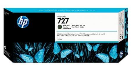 HP kartuša 727 (C1Q12A), 300 ml, mat črna