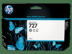 HP kartuša 727 (B3P24A), 130 ml, siva