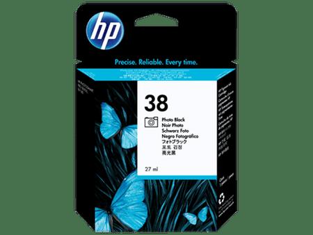 HP kartuša 38 (C9413A), 27 ml, foto črna