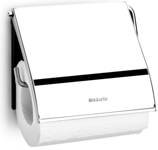 Brabantia Držák toaletního papíru Classic, Lesk