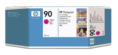 HP kartuša 90 (C5062A), 225 ml, Magenta